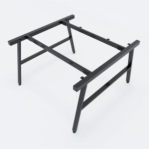 HCAC013 - Chân bàn cụm 2 hệ AConcept 1200x1200mm lắp ráp