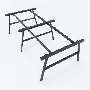 HCAC014 - Chân bàn cụm 4 hệ AConcept 240x120 lắp ráp