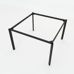 HCOC011 - Chân bàn cụm 2 hệ Oval Concept 120x120 lắp ráp
