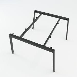HCAT011 - Chân bàn cụm 2 hệ Aton Concept 120x120 lắp ráp