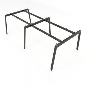 HCAT012 - Chân bàn cụm 4 hệ Aton Concept 240x120 lắp ráp