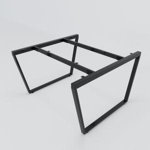 HCTC012 - Chân bàn cụm 2 hệ Trapez Concept 1200x1200mm lắp ráp
