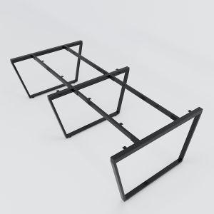 HCTC013 - Chân bàn cụm 4 hệ Trapez Concept 240x120 lắp ráp