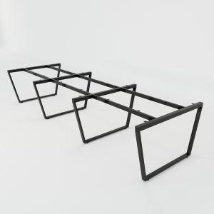 HCTC014 - Chân bàn cụm 6 hệ Trapez Concept 360x120 lắp ráp