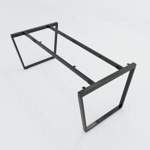 HCTC009 - Chân bàn họp sắt hệ Trapez Concept 180x90 lắp ráp