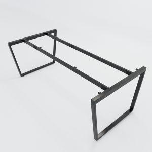 HCTC010 - Chân bàn sắt hệ Trapez Concept 200x100 lắp ráp