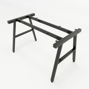 HCAC004 - Chân bàn sắt hệ AConcept 120x70 lắp ráp