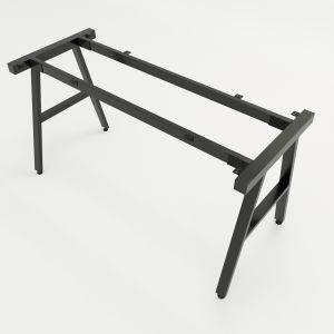 HCAC003 - Chân bàn sắt hệ AConcept 140x60 lắp ráp