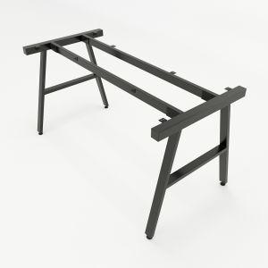HCAC005 - Chân bàn sắt hệ AConcept 140x70 lắp ráp