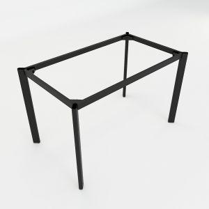 HCOC004 - Chân bàn sắt hệ Oval Concept 120x70 lắp ráp