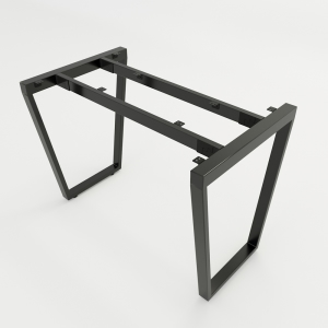 HCTC002 - Chân bàn sắt hệ Trapez Concept 120x60 lắp ráp