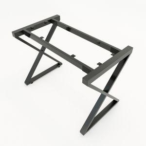 HCXC002 - Chân bàn sắt hệ XConcept 120x60 lắp ráp
