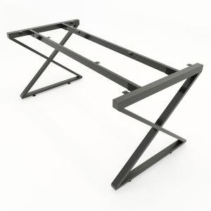 HCXC009 - Chân bàn sắt hệ XConcept 200x100 lắp ráp