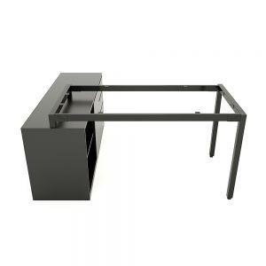 Chân bàn gác tủ hệ UConcept 140x60 lắp ráp HCUC019