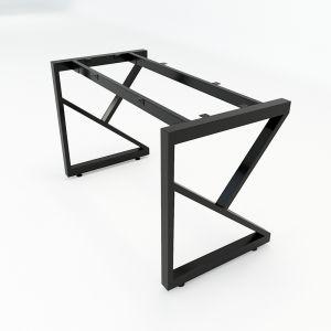 HCKC002 - Chân bàn sắt hệ KConcept 120x60 lắp ráp