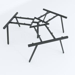 HCAC025 - Chân bàn cụm 3 hệ AConcept 236x205 lắp ráp