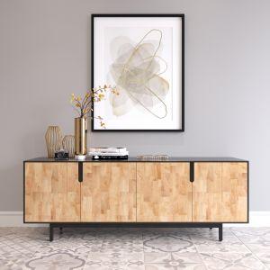 KTB68060 - Tủ gỗ trang trí phòng khách 180x36x63cm