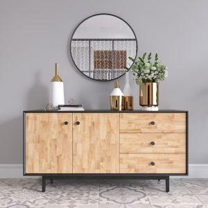 KTB68061 - Tủ gỗ trang trí phòng khách 140x35x68cm