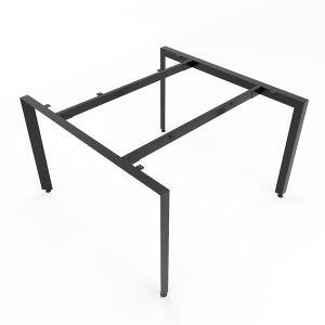 HCTA011 - Chân bàn cụm 2 chỗ ngồi hệ Trian Concept 120x120 lắp ráp