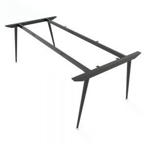 Chân bàn sắt hệ CONE Concept 200x100cm lắp ráp HCCO009