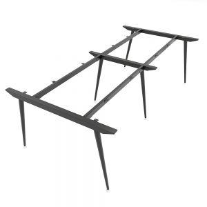 Chân bàn sắt hệ CONE Concept 240x120cm lắp ráp HCCO010