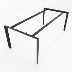Chân bàn sắt hệ Trian Concept 200x100 lắp ráp HCTA009