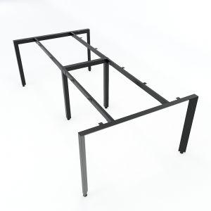 Chân bàn sắt hệ Trian Concept 240x120 lắp ráp HCTA010