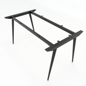 Chân bàn sắt hệ CONE Concept 140x80cm lắp ráp HCCO006