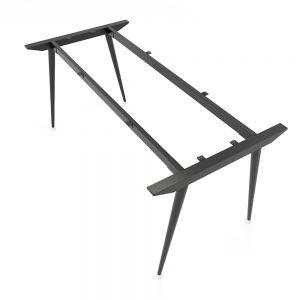 HCCO007 - Chân bàn sắt hệ CONE Concept 160x80 lắp ráp