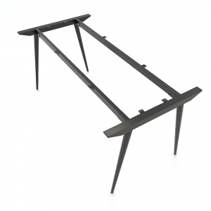 Chân bàn sắt hệ CONE Concept 160x80cm lắp ráp HCCO007
