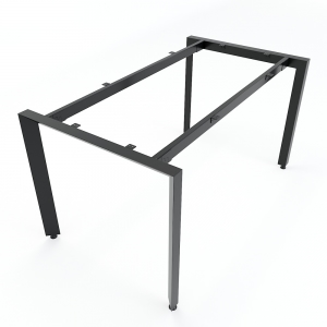 Chân bàn sắt hệ Trian Concept 140x80 lắp ráp HCTA006