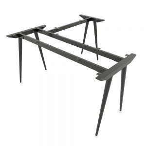 Chân bàn chữ L hệ CONE Concept 140x140cm lắp ráp HCCO014