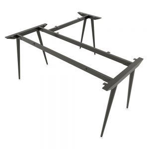 Chân bàn chữ L hệ CONE Concept 160x150cm lắp ráp HCCO017