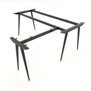 HCCO019 - Chân bàn chữ L hệ CONE Concept 180x160 lắp ráp