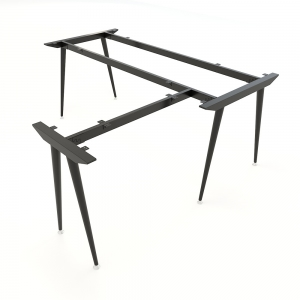 Chân bàn chữ L hệ CONE Concept 180x160cm lắp ráp HCCO019
