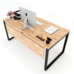 HBTC007 - Bàn làm việc 160x80 Rectang Concept lắp ráp