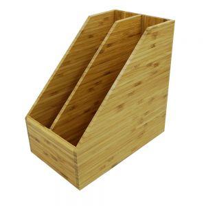 PKT002- Khay đựng tại liệu đôi gỗ tre ép