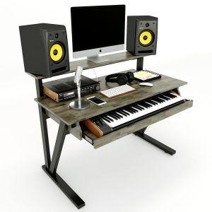 Bàn phòng thu StudioDesk nhỏ có hộc kéo đàn (120x60x94cm) SD68003