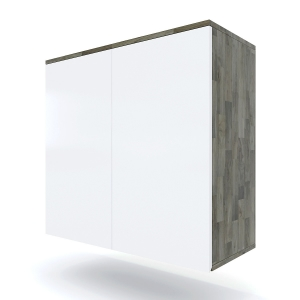 TBT007 - Module tủ bếp trên hệ 2 cửa mở (80x35x75cm)