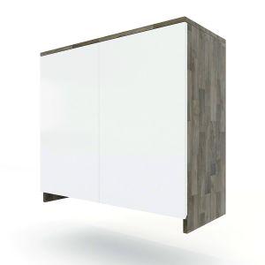TBT008 - Module tủ bếp trên hệ 2 cửa mở cho máy hút mùi (80x35x75cm)