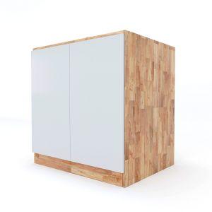 MTBD004- Module tủ bếp dưới hệ 2 cửa mở (80x60x82cm)