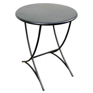 Bàn cafe tròn 60cm sắt sơn tĩnh điện CFD68037