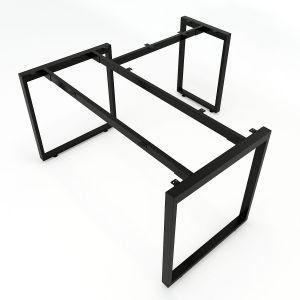 HCRT016- Chân bàn chữ L hệ Rectang 140x150cm lắp ráp