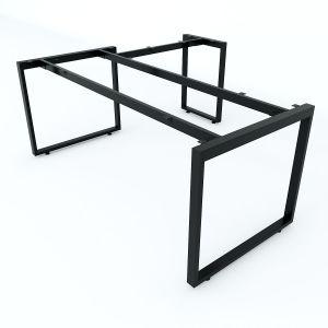 HCRT020- Chân bàn chữ L hệ Rectang 180x160cm lắp ráp