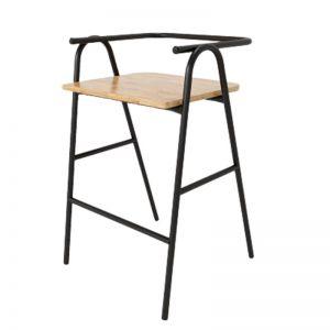 GCF036 - Ghế Bar Cozy sắt sơn tĩnh điện nhiều màu