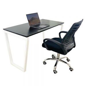 Combo bàn làm việc Trapez và ghế xoay văn phòng CB68056