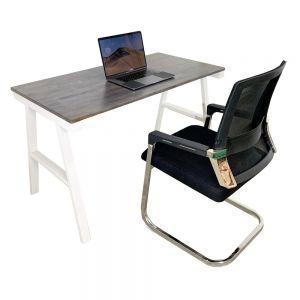 CB68058 - Combo bàn làm việc AConcept và ghế chân quỳ
