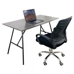 Bộ bàn ghế làm việc ARGON và ghế nệm chân xoay CB68054