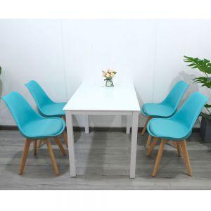 CBBA007 - Combo bàn ghế ăn 4 người và ghế ngồi có đệm