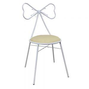 GTD001 - Ghế nơ bàn trang điểm PRINCESS màu trắng